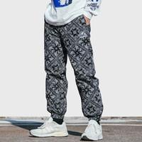 Wholesale baggy jogger trousers resale online - 2019 Men Hip Hip Pant Jogger Harajuku Retro Vintage Graphic Harem Pant Streetwear Spring Casual Track Pant HipHop Baggy Trousers