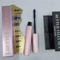 Wholesale fast makeup resale online - DROP ship Better Than Sex Mascara Makeup LASH Black Long Lasting Waterproof Eyes mascara ml Aluminum tube mascara