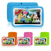 Wholesale kids educational tablet pc for sale - Group buy Kid Educational Tablet PC Inch Screen IPS px screen RK3126 Quad core Android RK3126 Bluetooth MB GB Bluetooth WIFI TA83