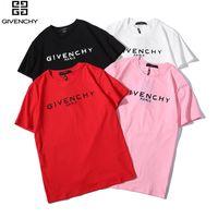europäische kleidergrößen männer großhandel-2019 neue kleidung farben O neck kurzarm männer T-shirt Männer Mode Europäischen größe T-shirts Casual Für Männliche T-shirt tops no.223