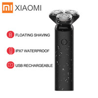 Wholesale trimmers for sale - Group buy Xiaomi Mijia Electric Shaver Razor for Men Dry Wet Shaving Machine Beard Trimmer USB Rechargeable Dual Blade Turbo Mode