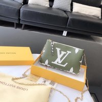 Wholesale zipper clasps for sale - Group buy designer bags Single shoulder bag cross body bag size The chain wallet Floral clasp Hand bag