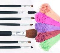 Wholesale beauties factory brushes for sale - Group buy 7pcs set makeup brush beauty makeup tools Foundation brush eye shadow brush beauty makeup kit factory