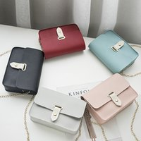 Wholesale korean cross body bags for sale - Group buy 2019 new single shoulder chain messenger bag Japan and Korean fashion leisure messenger mobile phone bag