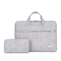 wasserdichte ärmel für laptops großhandel-Wasserdichte PU-Leder-Laptoptasche für Frauen 13,3 14 15 15,4 15,6 Zoll Laptop-Hülle Taschen für Frauen 2019 Handtasche Bolso Mujer