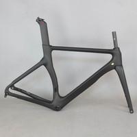 ingrosso colore del telaio in carbonio-SERAPH new Aero design all black color Disco carbon road bike telaio in fibra di carbonio racing disc bicicletta frame700c bicicletta TT-X3