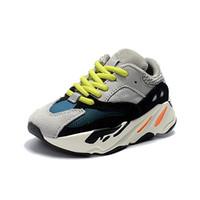продажа детских тренеров оптовых-Adidas Yeezy 700 Big Kids 700 Wave Runner для малышей Сиреневые кроссовки Youth Inertia Sneaker Pour Enfants Chaussures Подростковая спортивная обувь Мальчики Тренеры Дети