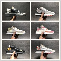 Wholesale wrestling shoes for sale resale online - 2019 Hot Sale Nite Jogger Boot Casual Running Shoes for Mens Wowen Black Red Chaussures Classic Fashion size36