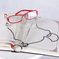 gafas de animales al por mayor-Máscaras Gafas Negro Butler Grell Sutcliff Red Skull Chain Gafas Cosplay Accesorios accesorios cosplay