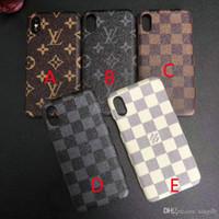 g мобильные телефоны оптовых-фирменный дизайн плед печатная буква G чехол для мобильного телефона чехол для iphone Xs макс Xr X 7 7 плюс 8 8 плюс 6 6 плюс твердый переплет