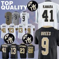 Saints jerseys 41 Alvin Kamara Drew 9 Brees Dez 88 Bryant 23 Marshon  Lattimore Michael 13 Thomas Adrian 28 Peterson jerseys 65f60265e