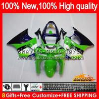 Wholesale kawasaki zx 6r 1998 fairing resale online - Body For KAWASAKI ZX R R ZX ZX600 ZX600CC HC CC ZX636 ZX6R ZX ZX R Full Fairing kit green purple