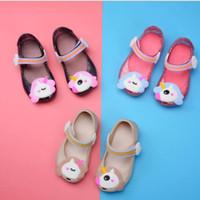 zapatos de gelatina pu melissa al por mayor-sandalias 2020 nuevos mejores de primavera marca de mayor venta al por mayor de las niñas zapatos de los niños del comercio exterior Mini Melissa jalea fábrica de zapatos directos