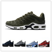 Wholesale tn kpu resale online - New Men Tn Kpu Breathable Running Shoes Outdoor Jogging Walking Shoes High Quality Tns Tn Mercurial Comfortable Sports Sneakers