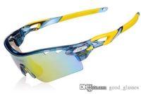 radfahren sonnenbrille verkauf großhandel-Mode Fahrrad Sonnenbrille Männer Frauen Markendesigner Straße Sport Radfahren Sonnenbrille Fahrrad Brillen mit Fall zum Verkauf