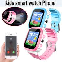 izleyici bulma toptan satış-2019 yeni sıcak smart watch gsm bulucu ile ekran izci sos çocuklar çocuklar için giyilebilir cihazlar relogio inteligente # 30