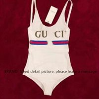 Wholesale GUCCY Style One piece Sexy Hollow out Beach Wear Bikinis set Swimwear Sling Swimsuit Bathing suit short Sleeve Beach Coverup