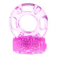 mariposa clítoris al por mayor-anillo vibrador, anillo para la polla, juguete sexual, vibrador sexual, anillo vibrador del pene Clítoris vibrante