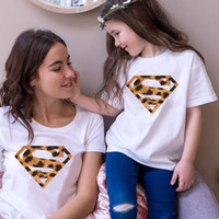 Cute Family Matching Clothes Summer Mommy and Me Tshirt