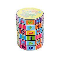 jeux préscolaires achat en gros de-Jouets mathématiques en bois Puzzle Baby Kids Learning Toy Jigsaw préscolaire Éducation de la petite enfance Montessori Jeu pour les tout-petits Enfants