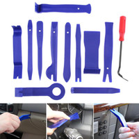 Wholesale car dvd installation resale online - 11 Car Disassembly Tools DVD Stereo Refit Kits Interior Plastic Trim Panel Dashboard Installation Removal Repair Tools