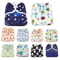 Wholesale eco friendly diapers for sale - Group buy Baby Bamboo Fiber Diapers Washable Eco Friendly Cloth Diaper Adjustable Nappy Reusable Cloth Diapers Fit years kg Baby