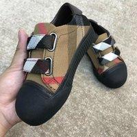 zapatilla china al por mayor-Zapatos casuales para niñas y niños China Niños deportes Zapatillas para niñas pequeñas Zapatillas de lona para niños Zapatos de moda