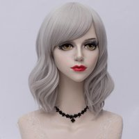 Wholesale colors for ombre hair for sale - Group buy CosplayMix Colors Short CM Cosplay Wig for Women Curly Ombre Bangs Natural Synthetic Hair Halloween Christmas Party Cap