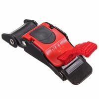 capacete integral preto vermelho venda por atacado-3Pc Motor Bike Helmet Chin Strap velocidade de costura Clipe transporte 9 engrenagem Quick Release Buckle Hot Gota
