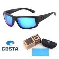Wholesale sunglasses factory for sale - Group buy NEW Fantail Factory COSTA Designer Sunglasses Mens Fishing Cycling sports Summer Polarized TR90 Sun glasses Fashion Eyewear with Retail box
