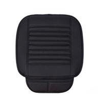 ingrosso rilievo completo per auto-new Car Seat Cushion Pad Traspirante Bamboo Carboncino Coprisedile Full Surround Proteggi