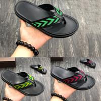 e0dd0b3dc 2019 New fashion designer fashion beach flip flops men casual Non-slip  summer leather sandals male female slippers outdoor lawn slippers