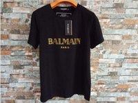 chemises colorées pour hommes achat en gros de-marque de mode estivale mens designer t-shirts couleurs de lettre imprimée lettre peur hip-hop peur de Dieu