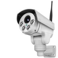 zoom wifi wasserdicht großhandel-Full HD 2.0MP 1080P WiFi IP Wireless Überwachungskameras im Freien wasserdichte CCTV Pan Tilt Zoom PTZ-Kamera mit integrierter 16G Micro SD-Karte Tag