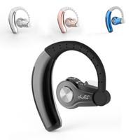 Wholesale apple car stereo resale online - T9 YUER Bluetooth Earphone Wireless Headphones V4 Hands free bluetooth stereo headset with MIC Car earphones for Smartphones