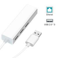 Wholesale pc adapter rj45 resale online - USB Ethernet USB Hub to RJ45 Lan Network Card Mbps Ethernet Adapter for Mac iOS Laptop PC Windows RTL8152 USB Hub