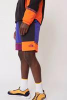 ropa interior de marcas americanas al por mayor-American Summer Street Skateboard Hip Hop Marca Pantalones Pantalones Cortos Para Hombre Logo Recto Bordado Costura Ropa interior Transpirable