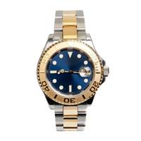 яхта мужские часы оптовых-  Watch YACHT MASTER 40mm Automatic Movement Mechanical Mens Stainless Steel Watches Wristwatch