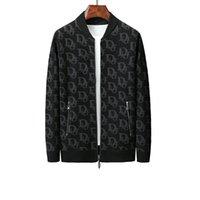 ingrosso giacche di cotone per uomo-DG nuovi uomini del rivestimento di Dolce Gabbana Uomo giacca designer Crown Print cotone di modo casuale delle parti superiori di alta qualità Movimento Coat6