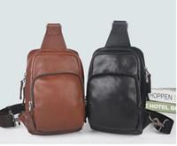 mens omuz seyahat çantaları toptan satış-yeni siyah ekose AV. ÇANTA ÇANTASI D.GRAP. N41719 seyahat çantası MENS çapraz vücut meme omuz çantası Hakiki deri göğüs çantası