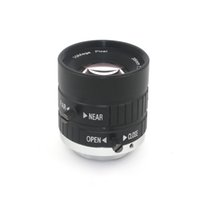 b2758a714c 10MP 35mm 1: 1.8 HD Lente de cámara industrial con manual fijo IRIS Focus  Zoom Lens C Montaje Lente CCTV para cámara CCTV Microscopio industrial