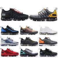 rebotar zapatillas al por mayor-Run VPM 2019 Utility Black Reflect Silver Men Running Shoes Triple White Urban Bounce Men Designer Shoes Mujer Deportes Zapatillas de deporte
