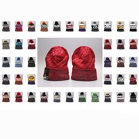Wholesale american football beanie resale online - Hot Sale New Arrival Beanies Hats American Baseball teams Winter Sport Knit Hat Football caps Beanie drop shippping Styles