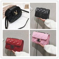 Wholesale rivets for handbags for sale - Group buy Hot Fashion Crossbody Bags for Women High Capacity Layer Shoulder Bag Handbag PU Leather Women Messenger Bags