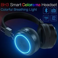 Wholesale lighted cell phone cases for sale – best JAKCOM BH3 Smart Colorama Headset New Product in Headphones Earphones as light nordic socks case bip