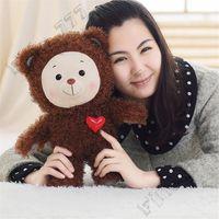 ingrosso l'amore dell'orso del bambino-Bambola peluche arcobaleno peluche orsetto bambola amore bambola orsetto per bambini bambola di peluche