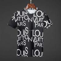 weiße kragenhemden für männer großhandel-Mode Tees Für Männer Hip Hop Baumwolle Herren aus Kleidung T-shirt Runder Kragen milliardär Mann Tops Sommer Kurzarm schwarz Weiß shirt t