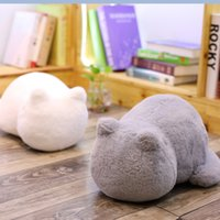 pillow fill venda por atacado-Cat Almofadas de Pelúcia Travesseiro Sombra Cat Cheio Animal Pillow Toys Kids Presente Home Decor para o Natal