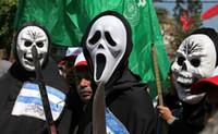 máscaras de grito venda por atacado-Dia de Todos os Santos Scary Mask Halloween Tamanho Livre Unisex Death Scream Mask Máscara de Esqueleto de Rosto Engraçado