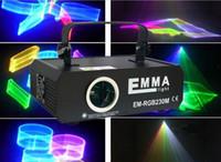 Wholesale laser dj lights ilda resale online - Hot Fashion stage light W RGB DMX ILDA Full Color Laser light Watt Auto Sound control Program DJ Stage Effect MW